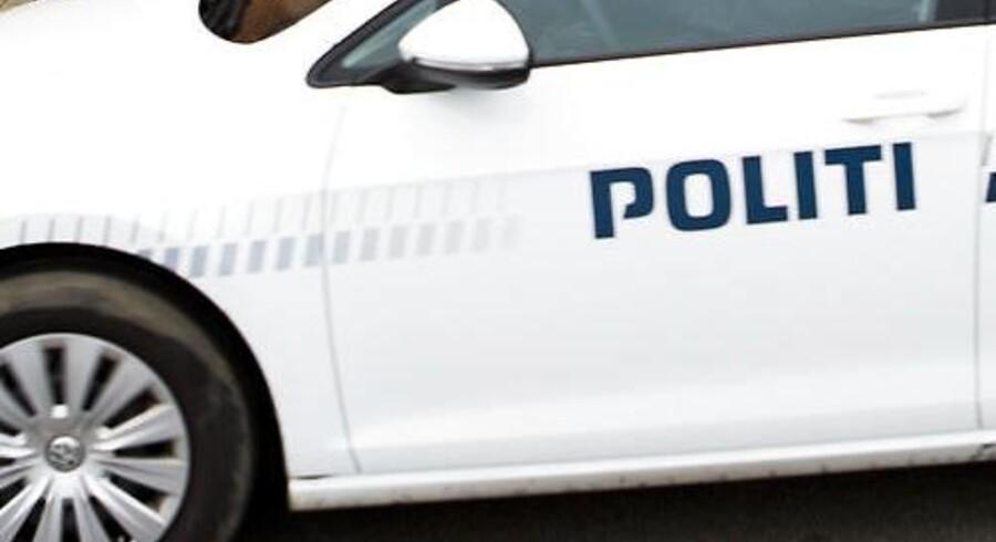 Arkivfoto. Et 28-årigt medlem af banden Black Army er natten til tirsdag blevet ramt af skud i Herning.
