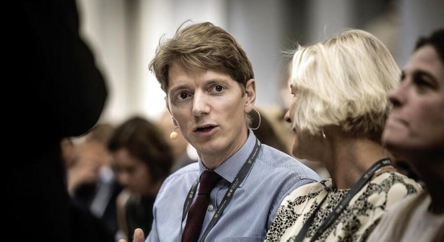 Robert Mærsk Uggla, administrerende direktør i A.P. Møller Holding, taler til VL Døgnet 2017.