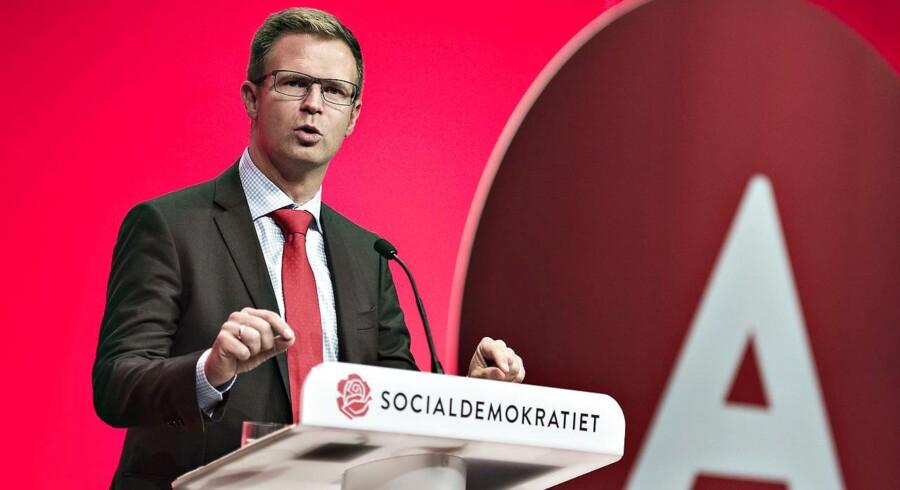 """Arkivfoto: Socialdemokratiets finansordfører Benny Engelbrecht, kalder Christina Egelunds advarsel for en """"skræmmekampagne""""."""