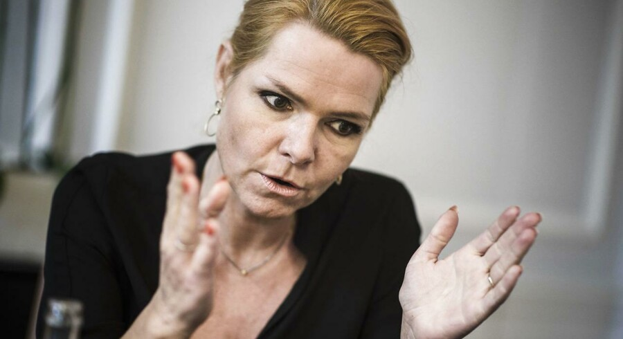 ARKIVFOTO 2015 af udlændinge, integrations- og boligminister Inger Støjberg (foto: Simon Læssøe / Scanpix 2016)