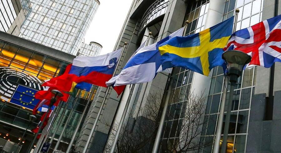 Dele af Europaparlamentet kritiserer allerede den nye dataudvekslingsaftale mellem EU og USA, inden den er 24 timer gammel. Foto: Yves Herman, Reuters/Scanpix