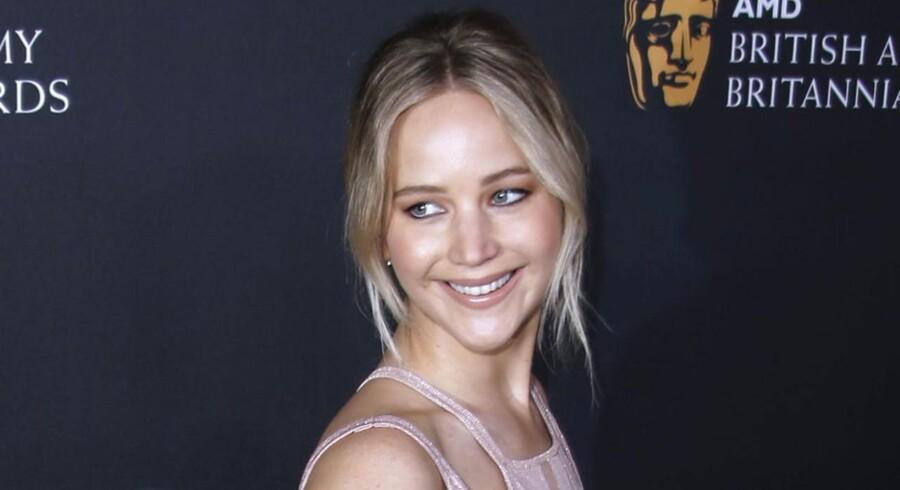 Jennifer Lawrence bliver nu kritiseret for sin opførsel på et hawaiiansk helligsted. REUTERS/Mario Anzuoni/Files