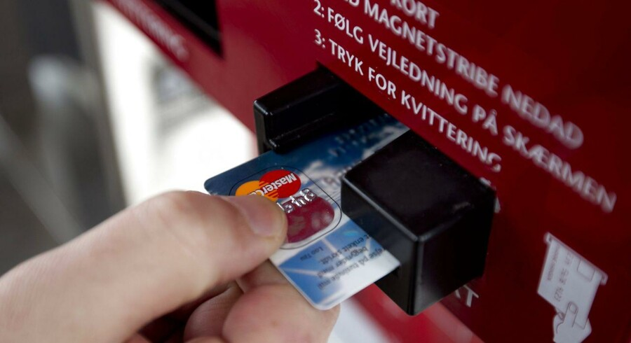 Politiet oplever et stigende antal anmeldelser med misbrug af kreditkort.
