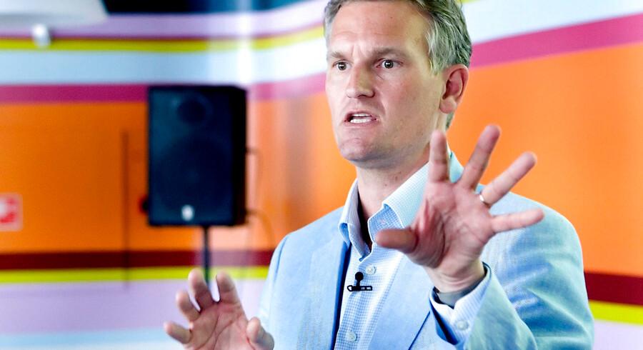 ARKIVFOTO. Ulrik Haagerup stopper som nyhedsdirektør i DR. Det oplyser DR. (Foto: Lars Helsinghof Bæk/Scanpix 2013)