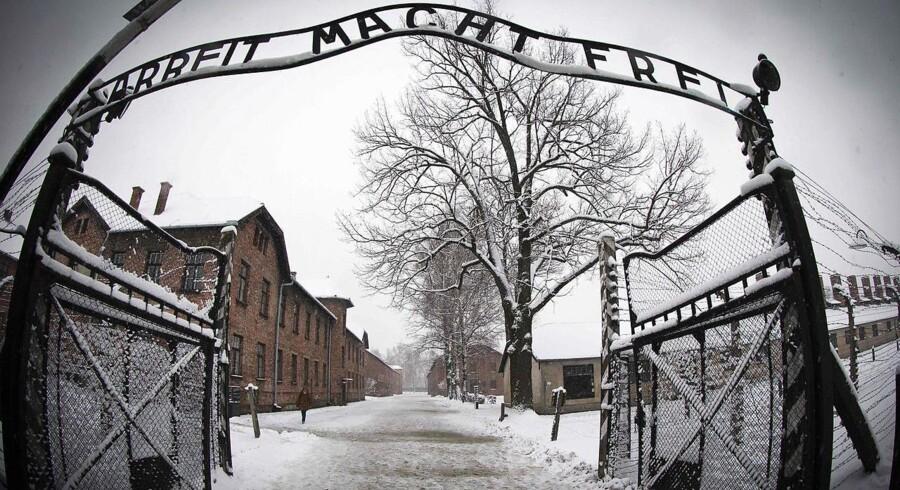 Onsdag den 27. januar mindes ofrene fra KZ-lejren Auschwitz. Arkivfoto Joel Saget/AFP