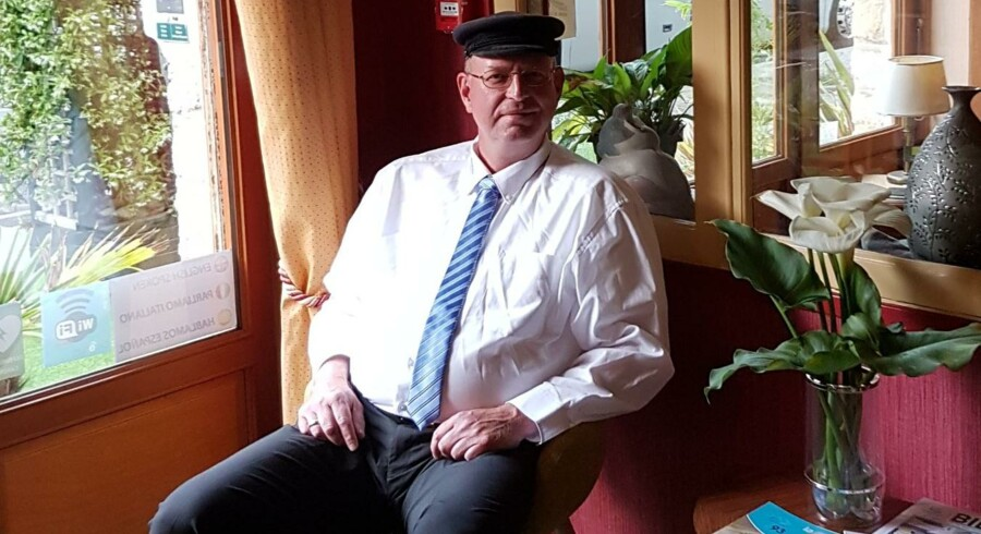 Hans Peter Terp har tidligere boet i Roskilde, men arbejder i dag som turistbuschauffør i Frankfurt. Privatfoto.
