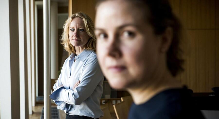 Portræt af Line Markert og Annelouise Dalgaard Pedersen. Line er medejer af Horten advokatfirma, og Annelouise er partner.