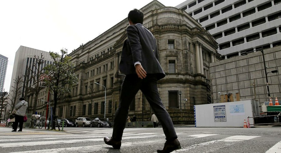Bank of Japan.