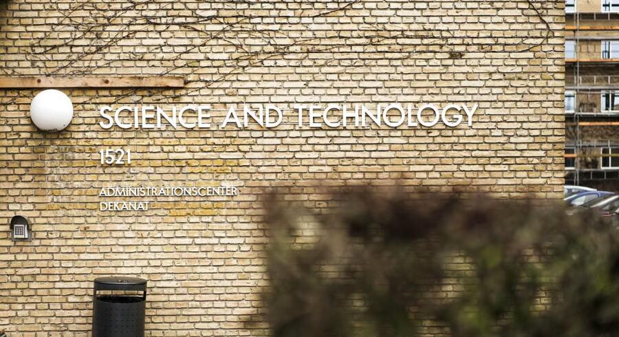 Science and Technology bygning 1521 på Aarhus Universitet. Til BM