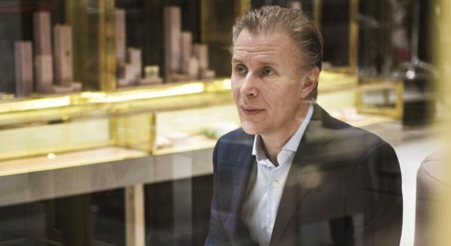 Finansdirektør i Magasin du Nord, Peter Fabricius.