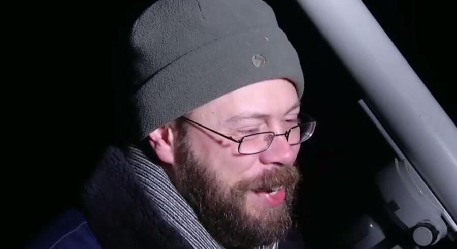 Skærmbillede fra interviewet taget med tilladelse fra TV 2 Bornholm.