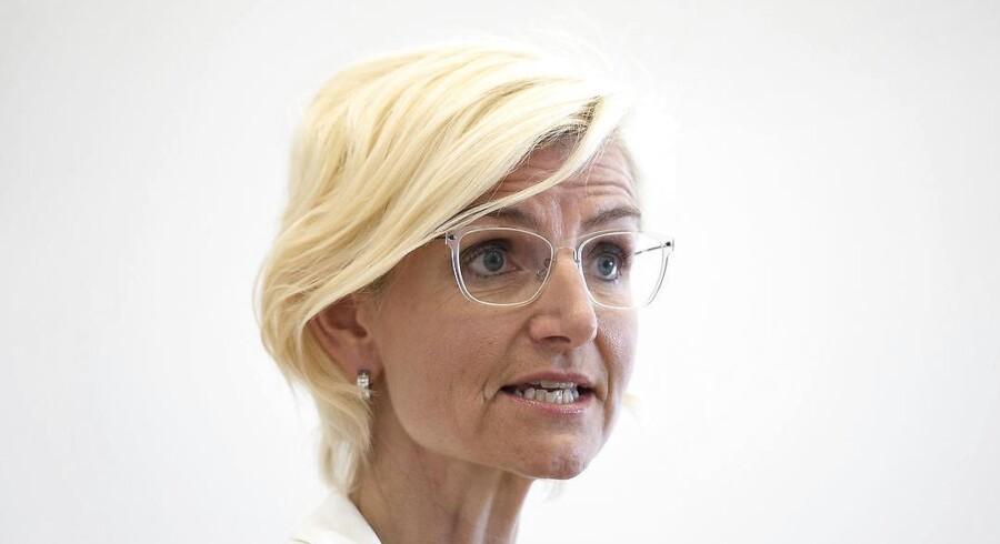 Ulla Tørnæs: »Uddannelse skal føre til job. Det må være målet.«