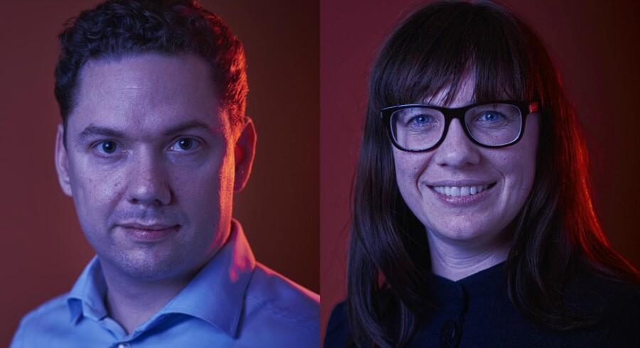 Emil Deleuran og Tine Jørgensen er nogle af Berlingske Business' talenter årgang 2016.