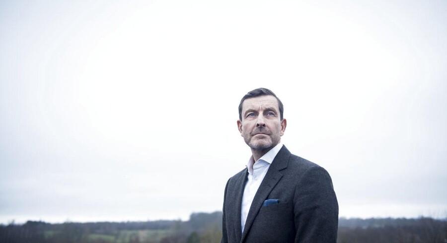 Arkivfoto. Medicinalgiganten Janssens nordiske direktør, Lars Johansson.