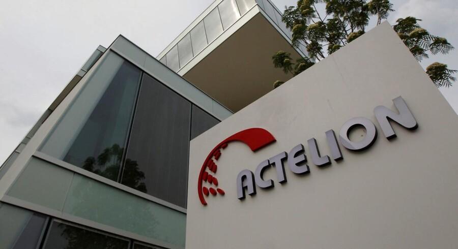 Det ser ikke ud til, at de øvrige aktionærer kan se frem til at blive købt ud af Actelion, hvis aktie falder med 4,6 pct. tirsdag til 181,20 schweizerfranc. Sammenlignet med slutkursen torsdag, er aktien dog fortsat steget næsten 15 pct.