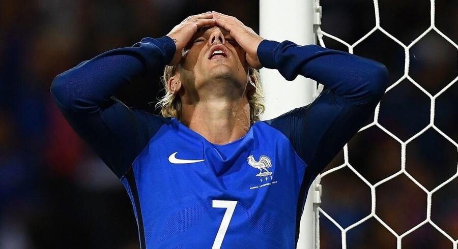 Antoine Griezmann var imponeret over Luxembourg, der søndag hentede point ude mod Frankrig.