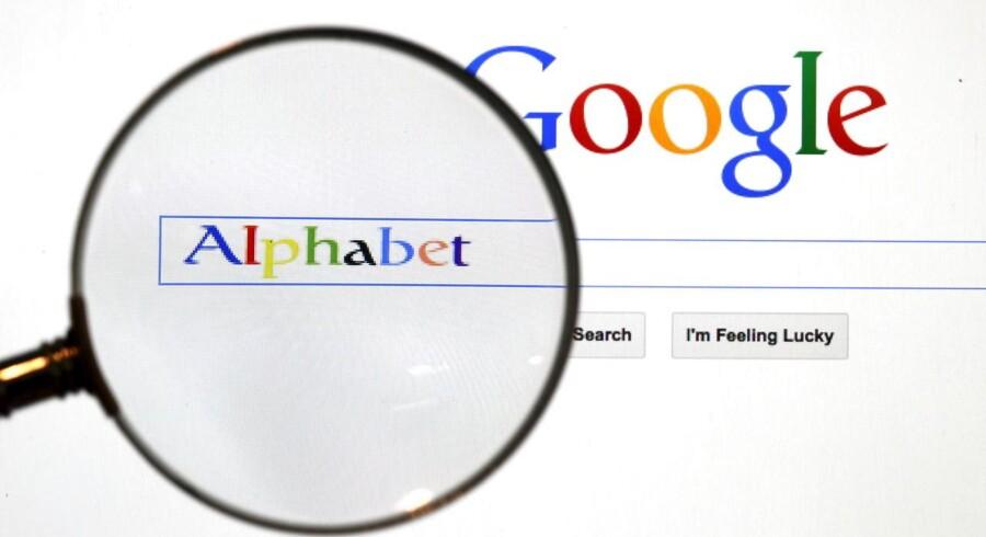 Alphabet ejer blandt andet Google.