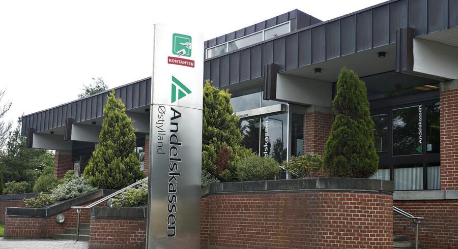Arkivfoto: Danske Andelskassers Bank. Her ses hovedsædet i Hammershøj.