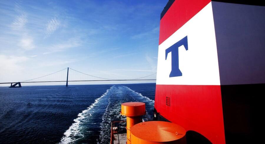Arkivfotot. Selvom rederiet Torm leverer tilbagegang både i top- og bund i regnskabet for første kvartal, er rederiets topchef, Jacob Meldgaard, tilfreds med resultatet.