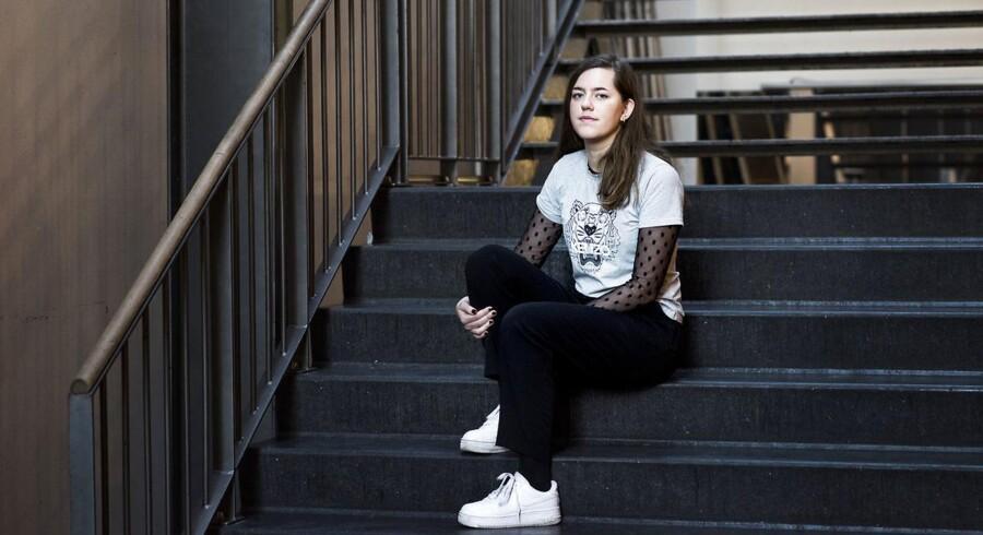 Slap i gymnasiet, engageret på læreruddannelsen - 23-årige Catrine Rosbirk kom ind læreruddannelsen Metropol gennem den optagelsesprøve, som i mere end en forstand har ført noget godt med sig.