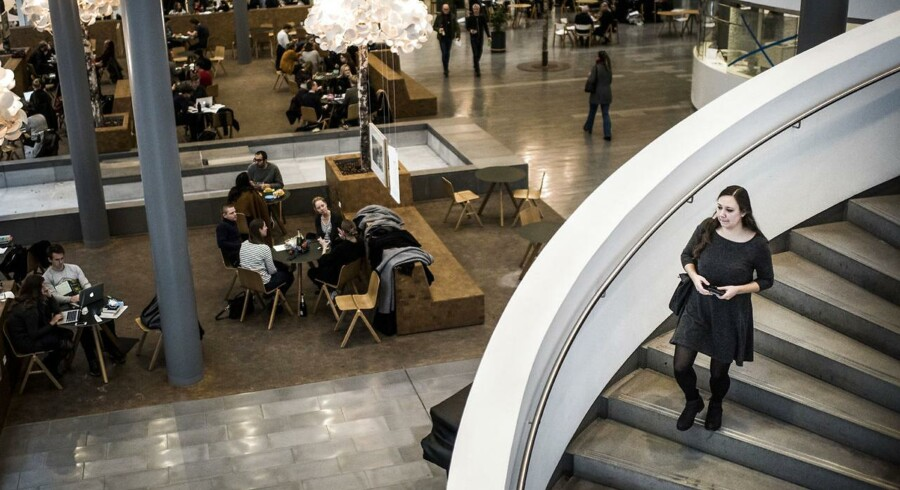 Danske universiteter er enige om at samle sproguddannelser på færre universiteter. Her genrebilleder fra KUA, Københavns Universitet Amager.