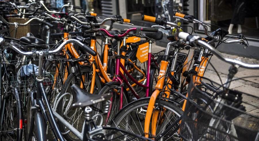 Cykler fra Donkey Republic cykeludlejning.