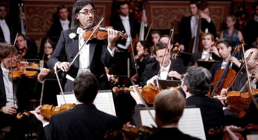 Den græske violinist Leonidas Kavakos.