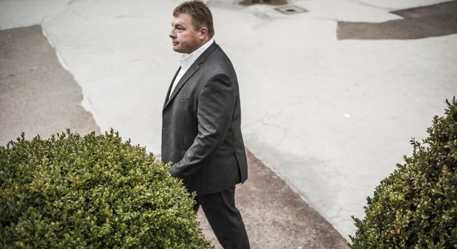 Jan Kjærsgaard er direktør i den nordjyske virksomhed Bladt Industries, der også har produktion på det tidligere Lindø-værft. Bladt er en af de sidste store tunge industrivirksomheder i Danmark. Foto: Asger Ladefoged