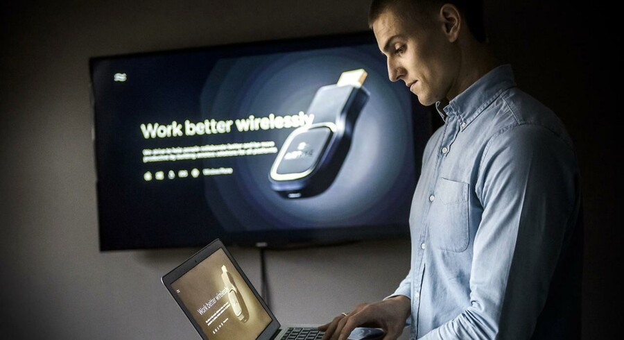 Jonas Gyalokay, medstifter og adm. direktør i startup-virksomheden Airtame, har netop fået tilført 4,4 mio. kr. fra Innovationsfonden.