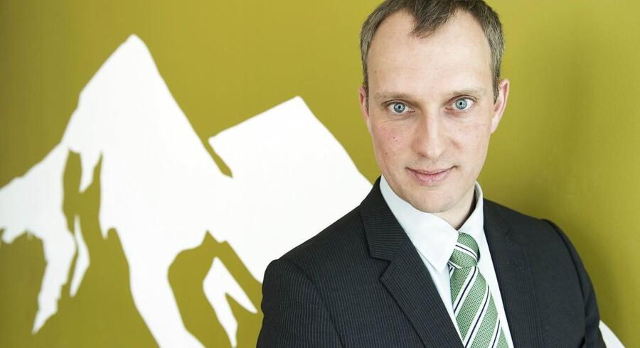 Branchedirektør Adam Lebech fra DI mener, at regeringens planer om at overvåge danskernes datatrafik er helt ude af proportioner: »Man kunne også ansætte halvdelen af befolkningen som politibetjente – det ville også reducere kriminaliteten,« siger Adam Lebech. Arkivfoto: Claus Bech