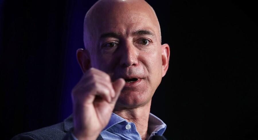 Verdens rigste mand, Jeff Bezos, stifter og topchef for Amazon.com