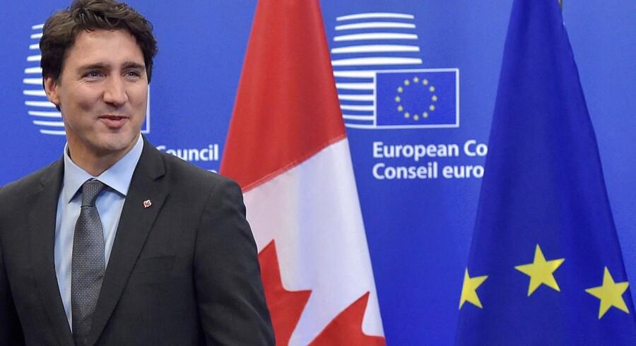 Canadas premierministe Justin Trudeau