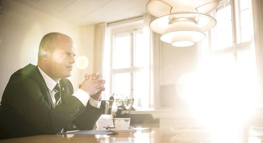 Arkivfoto: Forsvarsminister Peter Christensen (V)