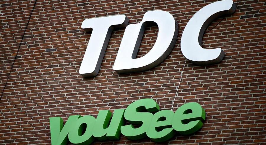 (ARKIV) TDC og YouSee facade i København (Foto: Torkil Adsersen/Scanpix 2018)