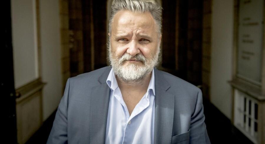 Torben Jensen, topfigur i Hellerup Finans, der fredag blev erklæret konkurs, er klar til at starte helt forfra: »Jeg er fuldstændig færdig,« siger han.
