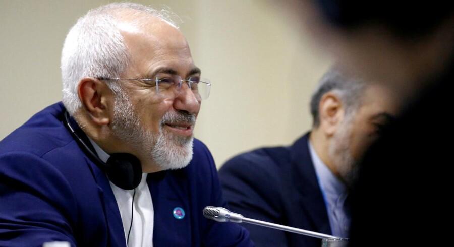 Arkivfoto. Irans udenrigsminister Mohammad Javad Zarif.