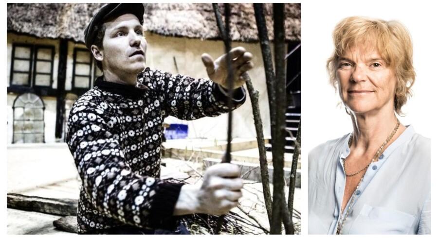 Danskerne elsker den romantiske drøm om Bonderøven Frank Erichsens »liv som i gamle dage«. Men hvis alle levede som han, ville vi være fattigere. (Foto: Simon Læssøe)