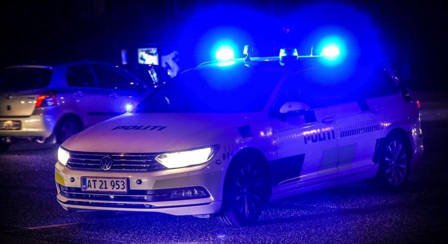 Arkivifoto: Københavns Politi var sent søndag massivt til stede ved et boligområde i Brønshøj.