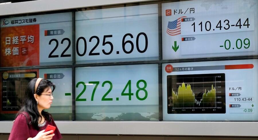 Japan er godt i gang med at opkøbe virksomheder i USA, mens kinesiske selskaber er lammede af handelskrigen mellem USA og Kina.