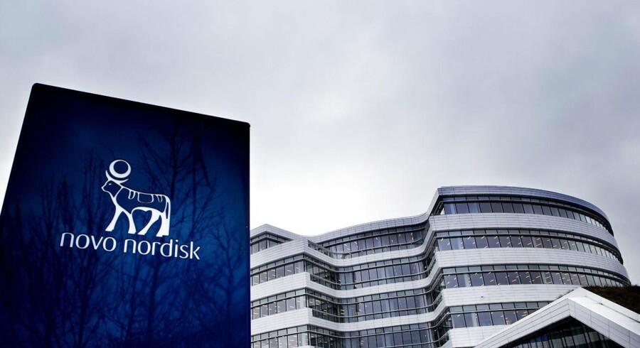 Novo Nordisk er Danmarks suverænt mest værdifulde selskab. Men en rabatkrig i USA har gjort voldsomt indhug i værdierne. (Foto: Linda Kastrup/Scanpix 2017)
