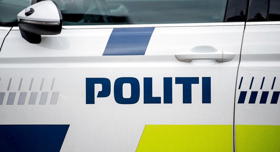 Politi ved Københavns Byret, mandag den 25. juni 2018.