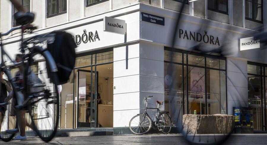 Pandora på Strøget.