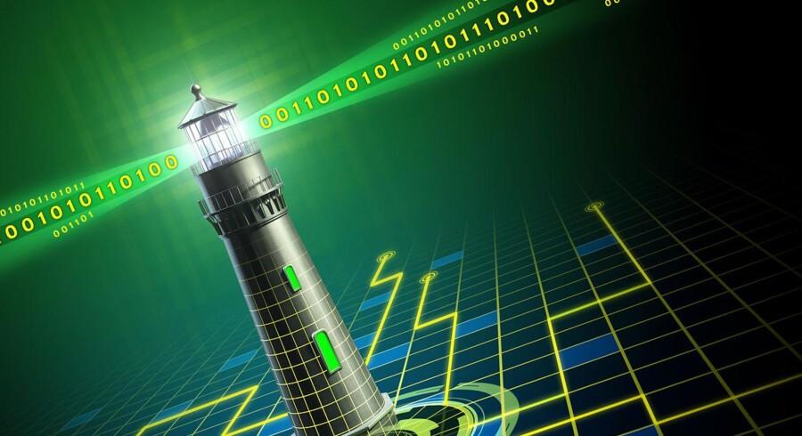 Danmark skal være et digitalt foregangsland, har regeringen lagt op til. Et hold af digitale fyrmestre skal vise vejen. Arkivfoto: Iris/Scanpix