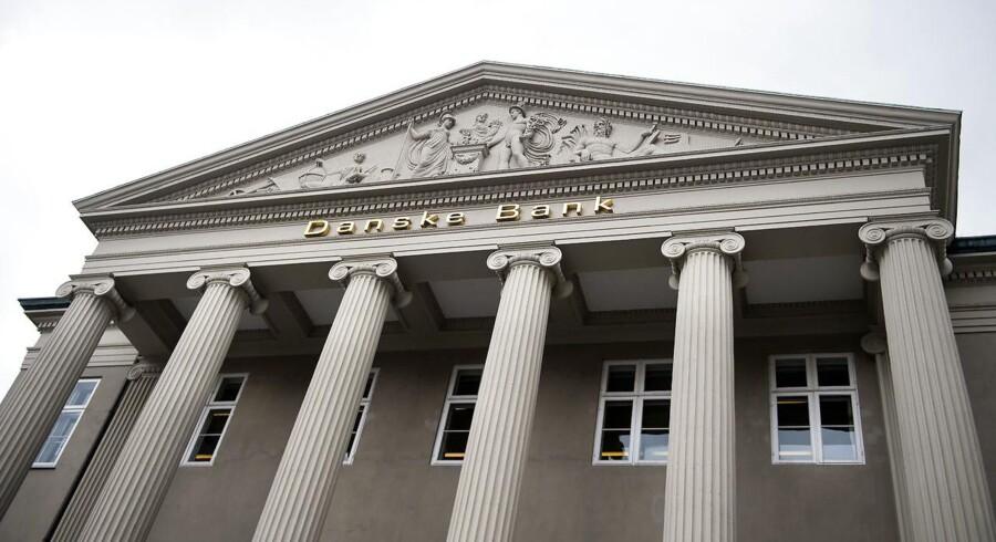 Danske Bank steg 3,6 pct. tirsdag til 174,85 kr.