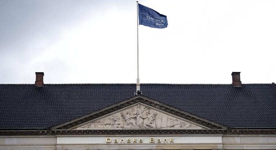 Danske Bank offentliggør onsdag konklusionerne fra dens egen undersøgelse af Hvidvasksagen. (Foto: Liselotte Sabroe/Ritzau Scanpix)