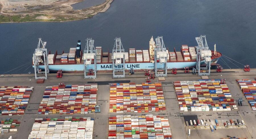 Logitiskdelen Damco bliver fremover en del af Maersk Line.