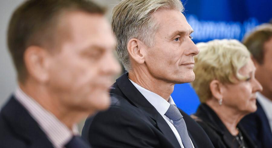 Pressemøde Danske Bank