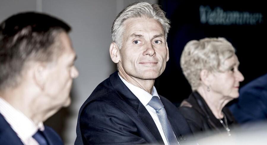 På baggrund af af en intern undersøgelse holder Danske Bank onsdag d.19.09.2018 pressemåde om hvidvask-sagen, der forinden mødet betød at CEO Thomas F. Borgen fratrådte sin stilling.