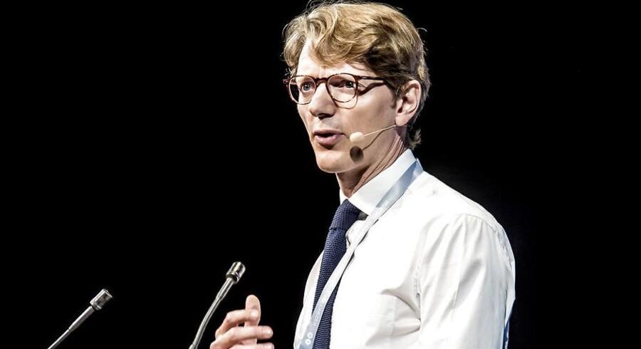 Robert M. Uggla, der er adm. direktør i A.P. Møller Holding, som er storaktionær i Danske Bank, kalder bankens håndteringen af hvidvasksagen mangelfuld. (Foto: Mads Claus Rasmussen/Scanpix 2017)