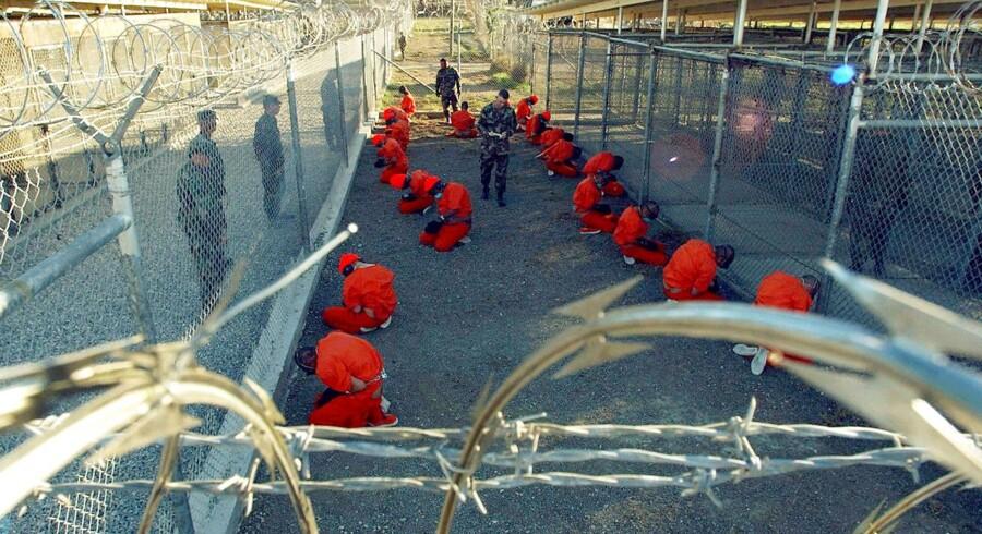 17 år efter Guantánamos åbning i kampen mod terrorisme, kan det paradoksalt nok være europæiske lande, som kan ønske deres IS-krigere hen, hvor Guantánamo gror. Arkivfoto: Shane T. McCoy/Reuters/Ritzau Scanpix